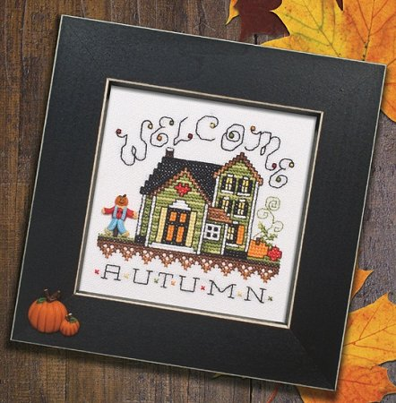 Button Frame - Pumpkin Duo 5x5 Black THUMBNAIL