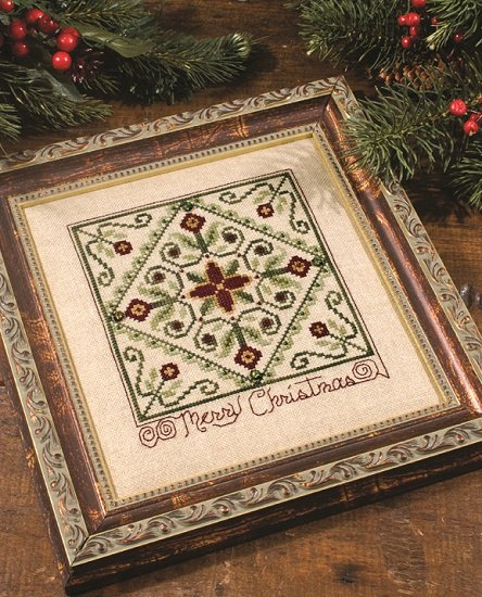 Custom Frame - Vintage Merry Christmas
