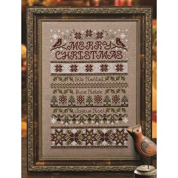 Custom Frame - Merry Christmas Sampler