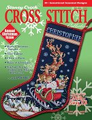 Cover photo of Summer 2013 Stoney Creek Cross Stitch Collection magazine