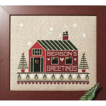 Custom Frame - Season's Greetings Cabin