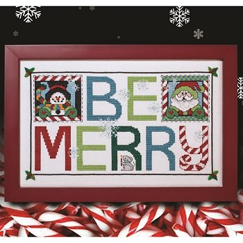 Custom Frame - Be Merry MAIN
