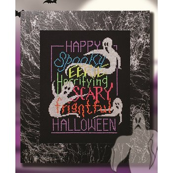 Custom Frame - Happy Halloween Cobweb