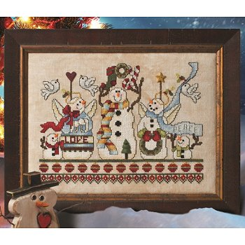 Custom Frame - Lovely & Joyful Christmas
