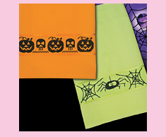 Halloween Silhouette Towels