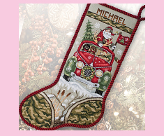 Santa's Hunting Stocking