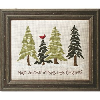 Custom Frame - Christmas in the Pines