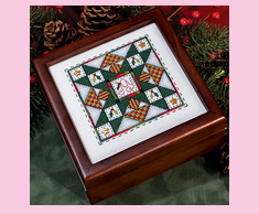 Quilted Christmas Star