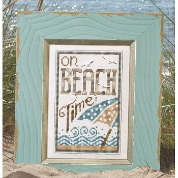 "Light Blue Distressed Clearwater Frame - 5"" x 7"" MAIN"