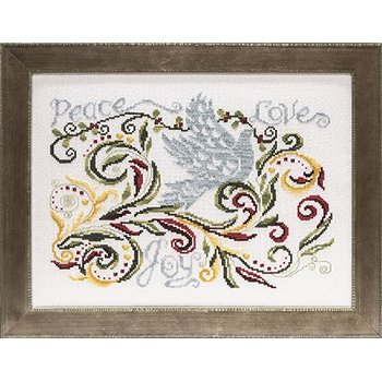 Custom Frame - Christmas Dove THUMBNAIL