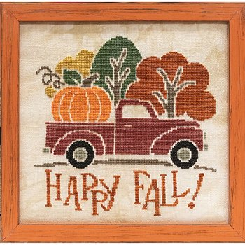 Custom Frame - Happy Fall Truck THUMBNAIL