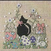 The Sweetheart Tree - Teenie Tweenie 167 Itty Bitty Kitty Easter