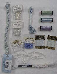 Sweet Child's Birth Sampler Thread/Bead Pack - Boy THUMBNAIL