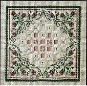 The Sweetheart Tree - Teenie Tweenie 158 Teenie Hardanger V