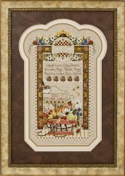 "Stoney Creek 2010 Stitching Jubilee Commemorative Sampler ""Take Time"" Pattern"