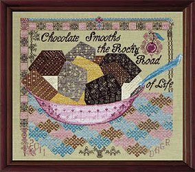 Tempting Tangles Designs - Quaker Rocky Road MAIN
