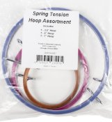 Spring Tension Hoop Assortment THUMBNAIL