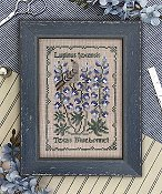 The Drawn Thread - Botanical Stitches - Texas Bluebonnet THUMBNAIL