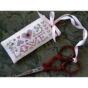 The Drawn Thread - Scissors Tag Love