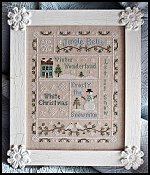 "Family Tree Frame Company - The Merry Frame 10"" x 12.5"" Fleamarket Icing"