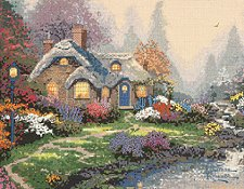 Thomas Kinkade - Everett's Cottage