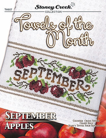 Towels of the Month - September Apples THUMBNAIL