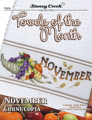 Towels of the Month - November Cornucopia_THUMBNAIL