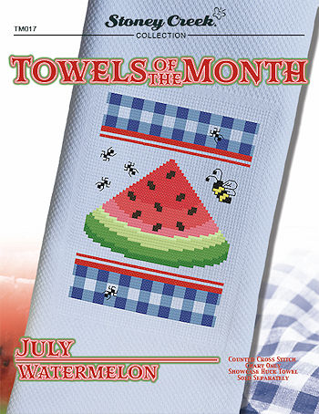 Towels of the Month - July Watermelon_MAIN