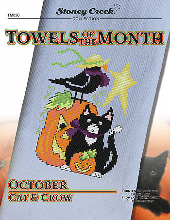 Towels of the Month - October Cat & Crow MAIN