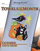 Towels of the Month - October Cat & Crow THUMBNAIL