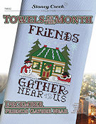 Towels of the Month - December Friends Gather Near THUMBNAIL
