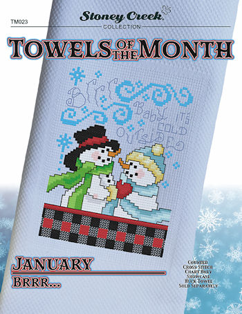 Towels of the Month - January Brrr... MAIN