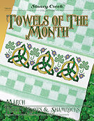 Towels of the Month - March Trinity Knots & Shamrocks THUMBNAIL