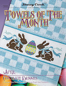 Towels of the Month - April Chocolate Bunnies THUMBNAIL