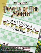 Towels of the Month - May Welcome To My Garden THUMBNAIL