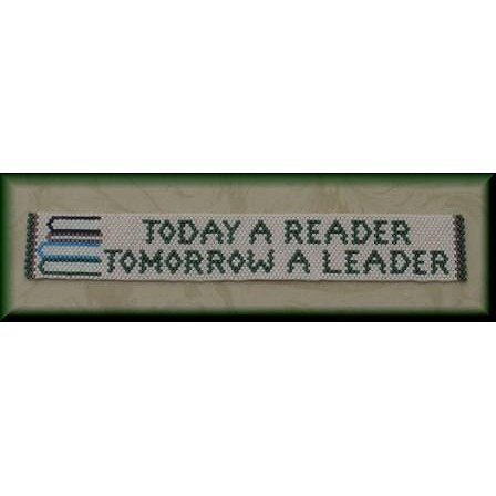 Threaded Needle Designs - Today a Reader Bookmark