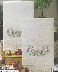 Tobin Home Crafts - Meadow Flowers Kitchen Towels