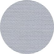 Color swatch of 16ct touch of grey Aida cross stitch fabric