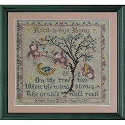 Tempting Tangles Designs - Tree Top Birth Sampler THUMBNAIL