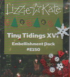 Lizzie Kate - Tiny Tidings XVI Embellishment  Pack