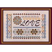 Turquoise Graphics & Design - Love Sampler