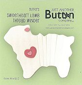 Just Another Button Company - Sweetheart Lamb Thread Winder THUMBNAIL