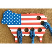 USA Flag Sheep Thread Keep