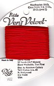 Rainbow Gallery Petite Very Velvet V632 Bright Red