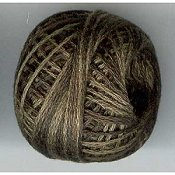 Valdani Blackened Khaki Brown 3 Ply Ball THUMBNAIL