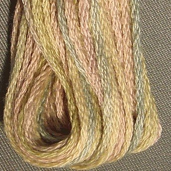 Valdani Hand Overdyed Thread Vintage Pastel MAIN