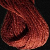 Valdani Hand Overdyed Thread Brick Dark THUMBNAIL
