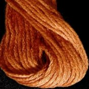 Valdani Hand Overdyed Thread Faded Rust Medium THUMBNAIL