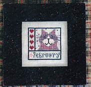 Val's Stuff - Kitty Kalendar - February