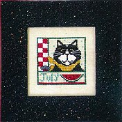 Val's Stuff - Kitty Kalendar - July - Discontinued